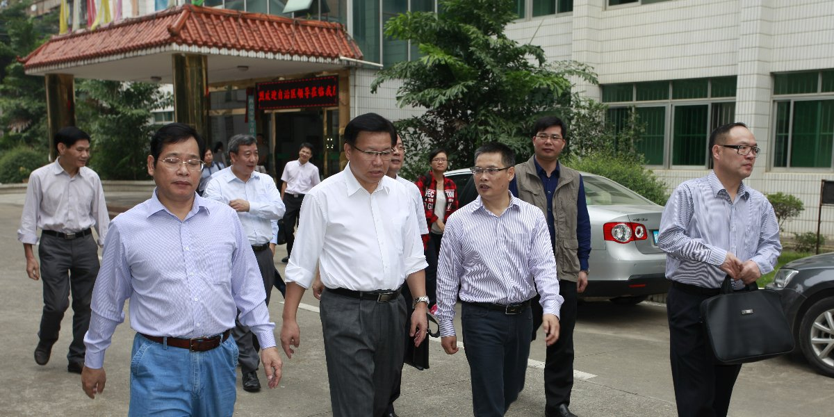 中央部委、自治区领导以及上级主管部门的重视和关怀