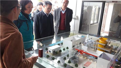 宏桂集团相关领导率队考察生物质能源化多联产技术示范项目