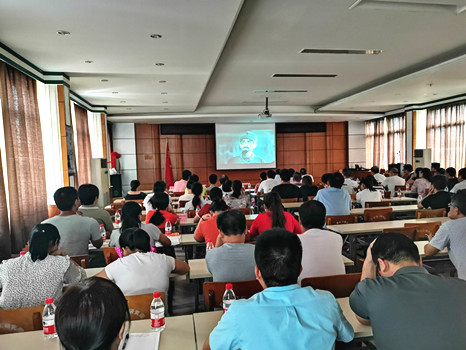 乐虎国际娱乐app下载院公司党委组织党员干部 观看电影《血战湘江》