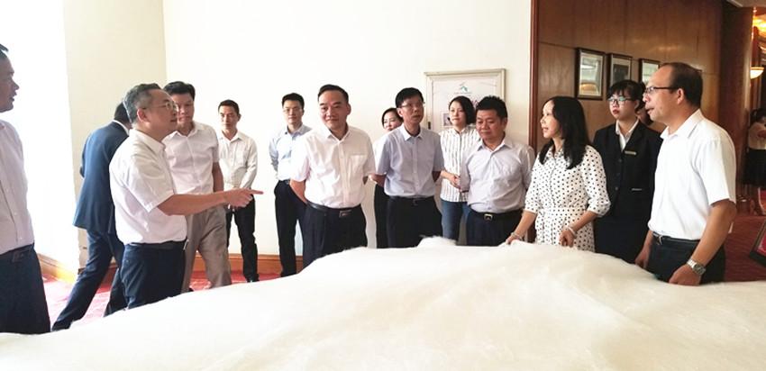 绢麻所公司参加宏桂集团岗位大练兵活动
