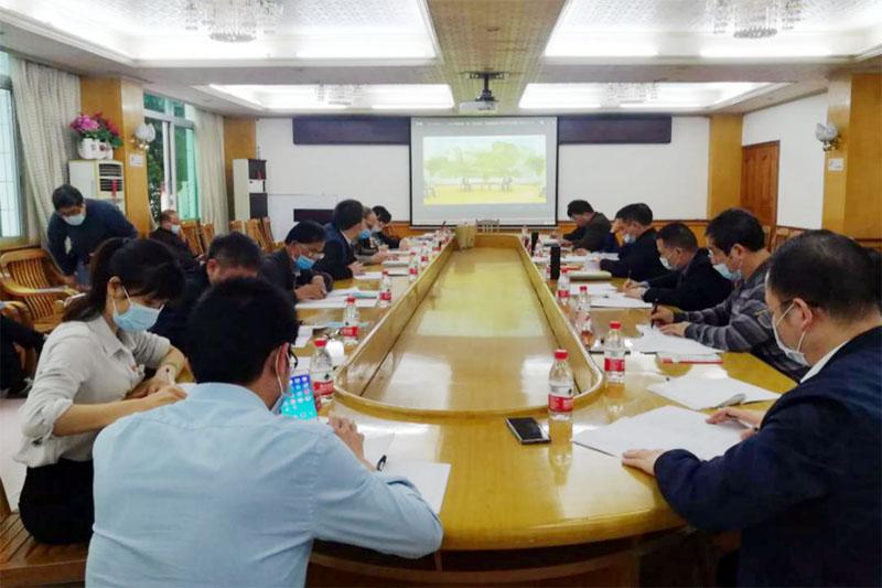 乐虎国际娱乐app下载院公司党委理论学习中心组召开2020年第二次专题学习会议