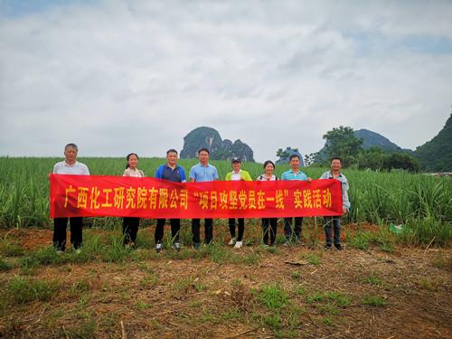 """必威亚洲官方登录院公司党委组织开展""""项目攻坚党员在一线""""现场实践活动"""