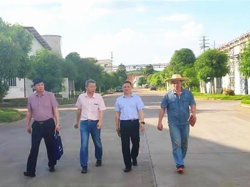 化工院党委领导班子深入新晶公司进行专项调研